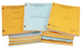 Movie/TV Memorabilia:Documents, MGM Assorted Scripts from the 1960s.... (Total: 13 )