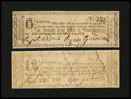 Obsoletes By State:Ohio, Worthington, OH- Ezra Griswold 6 1/4¢; 12 1/2¢ Sep. 23, 1816. ...(Total: 2 notes)