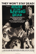 """Movie Posters:Horror, Night of the Living Dead (Continental, 1968). One Sheet (27"""" X 41""""). George A. Romero's landmark film about flesh-eating zom..."""