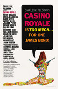 "Movie Posters:James Bond, Casino Royale (Columbia/Sony, 1967/2006). One Sheets (2) (27"" X41"") and (27"" X 40""). ""Casino Royale"" was the only Ian Flemi...(Total: 2 Items)"