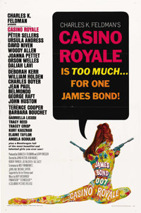 "Casino Royale (Columbia/Sony, 1967/2006). One Sheets (2) (27"" X 41"") and (27"" X 40""). ""Casino R..."
