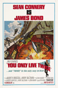 """Movie Posters:James Bond, You Only Live Twice (United Artists, 1967). One Sheet (27"""" X 41"""")Style A. Sean Connery, in what was supposed to have been h..."""