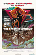 """Movie Posters:James Bond, The Spy Who Loved Me (United Artists, 1977). One Sheet (27"""" X 41""""). When both a British and a Russian submarine disappear, J..."""