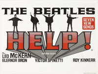 """Help! (United Artists, 1965). British Quad (30"""" X 40""""). The Beatles' follow-up to """"A Hard Day's Night&quo..."""
