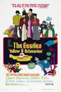 "Movie Posters:Animated, Yellow Submarine (United Artists, 1968). One Sheet (27"" X 41"").When the producers approached the Beatles about this film, t..."