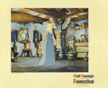"Movie Posters:Animated, Pinocchio (RKO, 1940). Lobby Card (11"" X 14""). This card features anice shot of the Blue Fairy and Pinocchio and a pivotal ..."