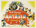 "Movie Posters:Animated, Fantasia (RKO, 1940). Half Sheet (22"" X 28""). Style B. WaltDisney's animated masterpiece was developed from a short-subject..."