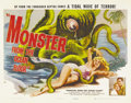 "Movie Posters:Science Fiction, Monster From the Ocean Floor (Lippert, 1954). Half Sheet (22"" X28""). Anne Kimbell portrays Julie Blair, a tourist visiting ..."