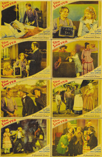 "Tom Sawyer (Paramount, 1930). Lobby Card Set of 8 (11"" X 14""). Jackie Coogan stars in this adaptation of Mark..."