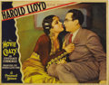 "Movie Posters:Comedy, Movie Crazy (Paramount, 1932). Lobby Cards (4) (11"" X 14""). HaroldLloyd stars as an aspiring actor who goes to Hollywood to...(Total: 4 Items)"
