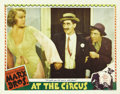 "Movie Posters:Comedy, At The Circus (MGM, 1939). Lobby Cards (2) (11"" X 14""). Here aretwo cards from this classic Marx Brothers comedy. The first...(Total: 2 Items)"