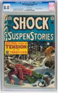 Golden Age (1938-1955):Horror, Shock SuspenStories #3 (EC, 1952) CGC VF 8.0 White pages....