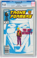 Modern Age (1980-Present):Science Fiction, Transformers #79 (Marvel, 1991) CGC NM/MT 9.8 White pages....
