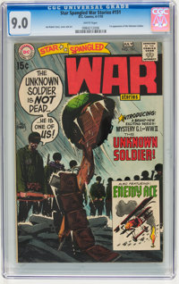 Star Spangled War Stories #151 (DC, 1970) CGC VF/NM 9.0 White pages