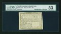 Colonial Notes:North Carolina, North Carolina May 10, 1780 $25 PMG About Uncirculated 53....