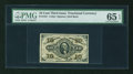 Fractional Currency:Third Issue, Fr. 1251 10¢ Third Issue PMG Gem Uncirculated 65 EPQ....