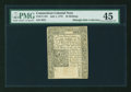 Colonial Notes:Connecticut, Connecticut July 1, 1775 10s PMG Choice Extremely Fine 45....