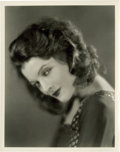 "Movie Posters:Miscellaneous, Myrna Loy by Julian Ancker (Warner Brothers, 1920s). Portrait (8"" X10"").. ..."