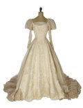 Movie/TV Memorabilia:Costumes, The Young and Restless Screen-Worn Wedding Dress. ...