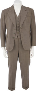 Movie/TV Memorabilia:Costumes, James Cagney's Screen-Worn Suit from Yankee Doodle Dandy....