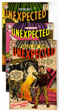 Silver Age (1956-1969):Horror, Tales of the Unexpected Group (DC, 1957-67) Condition: AverageVG.... (Total: 8 Comic Books)