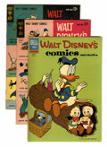 Golden Age (1938-1955):Cartoon Character, Walt Disney's Comics and Stories Group (Dell, 1962-72) Condition:Average FN/VF.... (Total: 9 Comic Books)