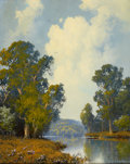Texas, A. D. GREER (American, 1904-1998). Spring Time, 1992. Oil oncanvas. 20 x 16 inches (50.8 x 40.6 cm). Signed and dated l...