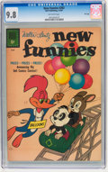 Silver Age (1956-1969):Cartoon Character, New Funnies #283 File Copy (Dell, 1961) CGC NM/MT 9.8 Off-white pages....