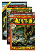 Bronze Age (1970-1979):Horror, Man-Thing Related Group (Marvel, 1972-75) Condition: Average VF....(Total: 28 Comic Books)