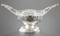 Silver Holloware, British:Holloware, A GEORGE V SILVER BOAT-SHAPE BOWL. Birmingham, England, 1920-21.Marks: (lion passant), (anchor), B&S (over) LTD, v,MADE...