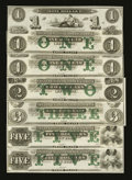 Obsoletes By State:Rhode Island, Newport, RI- New England Commercial Bank $1 (2); $2; $3; $5 (2). ... (Total: 6 notes)