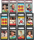 Baseball Cards:Sets, 1963 Topps Baseball Mid To High Grade Complete Set (576). ...