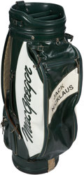 Golf Collectibles:Miscellaneous, 1980's Jack Nicklaus Tournament Used Golf Bag. ...