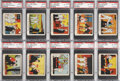 Non-Sport Cards:Lots, 1930's R41 Dick Tracy Caramels PSA-Graded Collection (21). ...