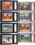 Non-Sport Cards:Lots, 1935 R89 Gum Inc. Mickey Mouse Graded Collection (32 Different) ...