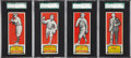 Baseball Cards:Lots, 1951 Topps Connie Mack All-Time All-Stars SGC-Graded Group of (4)....