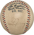 Autographs:Baseballs, Early 1930's Lou Gehrig Signed Baseball....
