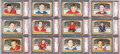 Hockey Cards:Lots, 1966 Topps USA Test Hockey PSA-Graded High End Collection (12). ...