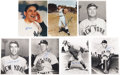 Baseball Collectibles:Photos, New York Yankees Signed Photographs Lot of 7.... (Total: 7 items)