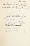 "Books:Signed Editions, ""Mercury Seven"" NASA Astronaut Group One Signed Book: MartinCaidin. The Astronauts...."