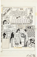 Original Comic Art:Covers, Dan DeCarlo Jughead with Archie Digest #84 Cover OriginalArt (Archie, 1987)....