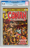 Bronze Age (1970-1979):Superhero, Conan the Barbarian #24 (Marvel, 1973) CGC NM/MT 9.8 Off-white towhite pages....