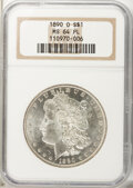 Morgan Dollars: , 1890-O $1 MS64 Prooflike NGC. NGC Census: (110/13). PCGS Population (121/21). Numismedia Wsl. Price for problem free NGC/P...