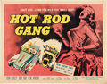 "Movie Posters:Cult Classic, Hot Rod Gang (American International, 1958). Half Sheet (22"" X28"").. ..."