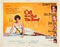 "Movie Posters:Drama, Cat on a Hot Tin Roof (MGM, 1958). Half Sheet (22"" X 28"") Style B....."