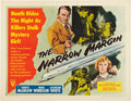 "Movie Posters:Film Noir, The Narrow Margin (RKO, 1952). Half Sheet (22"" X 28"") Style A.. ..."
