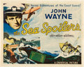 "Movie Posters:Action, The Sea Spoilers (Universal, 1936). Half Sheet (22"" X 28"").. ..."