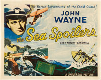 "The Sea Spoilers (Universal, 1936). Half Sheet (22"" X 28"")"
