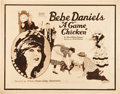 "Movie Posters:Comedy, A Game Chicken (Paramount, 1922). Half Sheet (22"" X 28"").. ..."