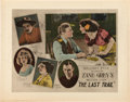 "Movie Posters:Western, The Last Trail (Fox, 1921). Half Sheet (22"" X 28"").. ..."
